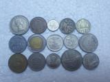 Lot 15 monede vechi straine