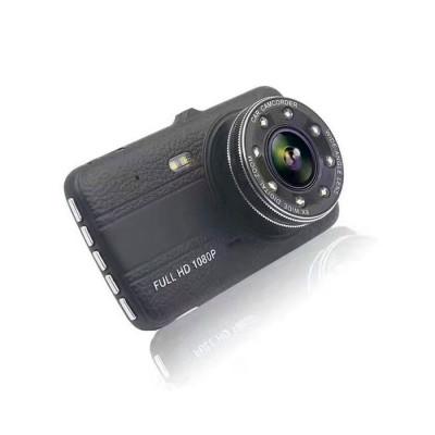Camera Video Auto Novatek T800 DUBLA 8 Led-uri Infrarosu Full HD foto