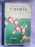 Manual școlar vechi Chimie anii 90 clasa a X
