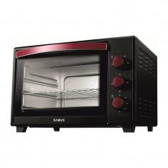 Cuptor electric Samus, 1600 W, 35 l, 230 grade, timer, avertizare sonora