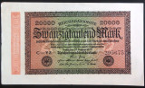 Bancnota 20000 Marci - GERMANIA/ BERLIN, anul 1923  *cod  117 - EXCELENTA!