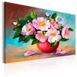 Tablou pictat manual - Bunch-ul de primavara - 60 x 40 cm, Artgeist