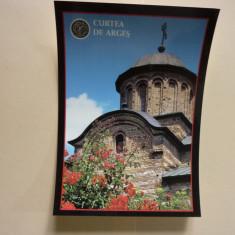 Carte poștală Biserica Domnească din Curtea de Argeș