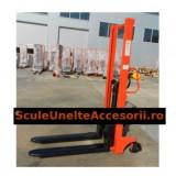 Transpalet manual cu ridicare LIFTEX 1016M, max 1000 Kg, inaltime 1.6 m