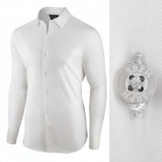 Camasa pentru barbati, alba, regular fit, bumbac, casual - Business Class Ultra, L, M, S, XL, XXL