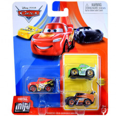 Set 3 masinute metalice XRS Mini Racers Cars 3