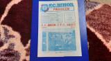 program    FC  Bihor   -  FC  Arges