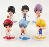 Set figurina Kurokos Basketball anime 7 cm Tetsuya Kise Kagami anime
