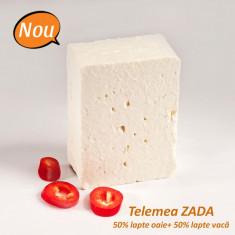 Brânză telemea cu lapte de oaie și vacă de la ZADA, 300g