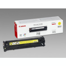 Toner Canon CRG716Y, yellow, capacitate 1500 pagini, pentru LBP5050, LBP5050n