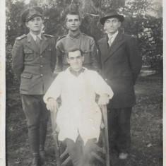 Fotografie ofiteri romani 1942 Sfantu Gheorghe Trei Scaune Transilvania
