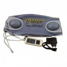 Centura pentru masaj cu efect de sauna cu telecomanda - Sauna Velform Belt