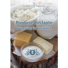 Produse din lapte preparate în bucătărie