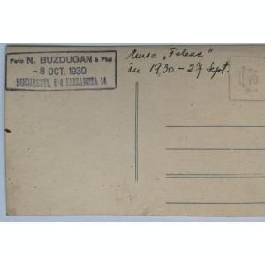 Fotografie masina - Cursa Feleac Cluj - 27 septembrie 1930 - foto N. Buzdugan