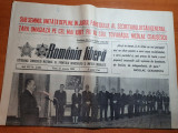 Romania libera 27 ianuarie 1984-art.  foto de la ziua de nastere a lui ceausescu