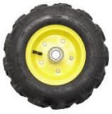 "Roata roaba - TT - ax 20mm - rulment - crampoane - 3.50-6 4PR"""