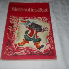 Motanul incaltat -Heinz Kahlau, Ed. Ion Creanga 1973, piesa in versuri pt. copii