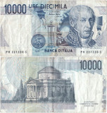 1984 (3 IX), 10.000 lire (P-112d.1) - Italia!