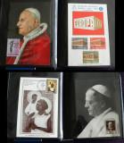 Album Vatican 1959-1970 - Colectie 42 maxicarduri + 53 plicuri jubiliare rare