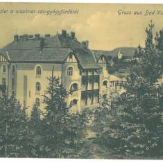 4704 - OCNA-SIBIULUI, Romania - old postcard - used - 1906, Circulata, Printata
