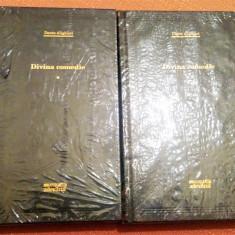 Divina comedie 2 Vol. Colectia Adevarul 100 Nr. 77 si 78 - Dante Alighieri