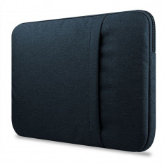 Husa Upzz Tech Protect Sleeve Pentru Laptop 13-14 Inch ,macbook Pro 13 Inch Navy