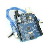 Placă de Dezvoltare Compatibilă cu Arduino UNO (ATmega328p și CH340) şi Cablu 50 cm