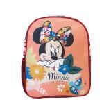 Ghiozdan gradinita mini Pigna Minnie Mouse roz inchis floral MNRS1828-3