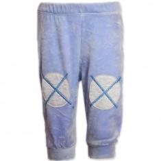 Pantaloni din catifea cu petice