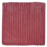 Fata de perna, model flannel, 45×45 cm, roz