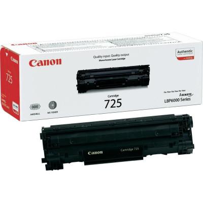 Toner original Canon CRG725 Black foto