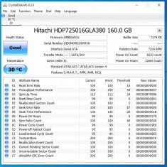 Hard disk HDD PC 160 GB 7200 rpm SATA2 Hitachi