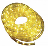 Cumpara ieftin Furtun luminos cu jocuri de lumini WELL 24 LED / m galbene
