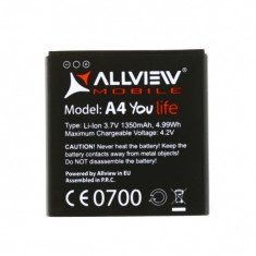 Acumulator Original ALLVIEW A4 YOU / A4 YOU LIFE (1350 mAh)