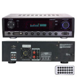 AMPLIFICATOR 2X50W FM/BT/USB/SD/AUX 2 LINII MIC