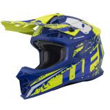 Casca motocross Ufo Intrepid , culoare albastru/galben , marime XL Cod Produs: MX_NEW HE133XL