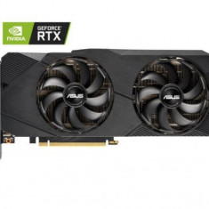 Placa video ASUS GeForce RTX 2080 Dual O8G EVO, 8GB, GDDR6, 256-bit