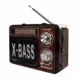 Cumpara ieftin Radio portabil X-Bass KN-161URT, 3 benzi, Maro