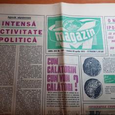 magazin 22 aprilie 1972-lansarea filmului serial romanesc ciresarii