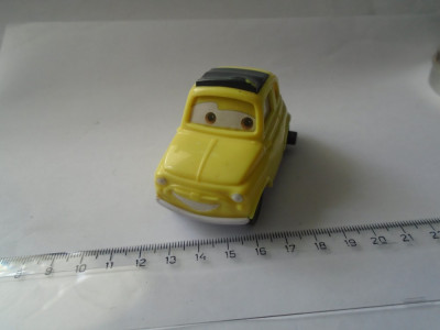 bnk jc Disnay Pixar Cars - McDonalds 2006 - Luigi foto