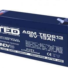 Acumulator Plumb - Acid 6V-13A