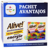 Alive! Men's Ultra 30tb + Alive! Women`s Ultra 30tb Pachet 1+1-50%