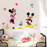Cumpara ieftin Autocolant Mickey, Minnie Mouse & Donald Duck Sticker Perete 2020,DECOR CAMERA