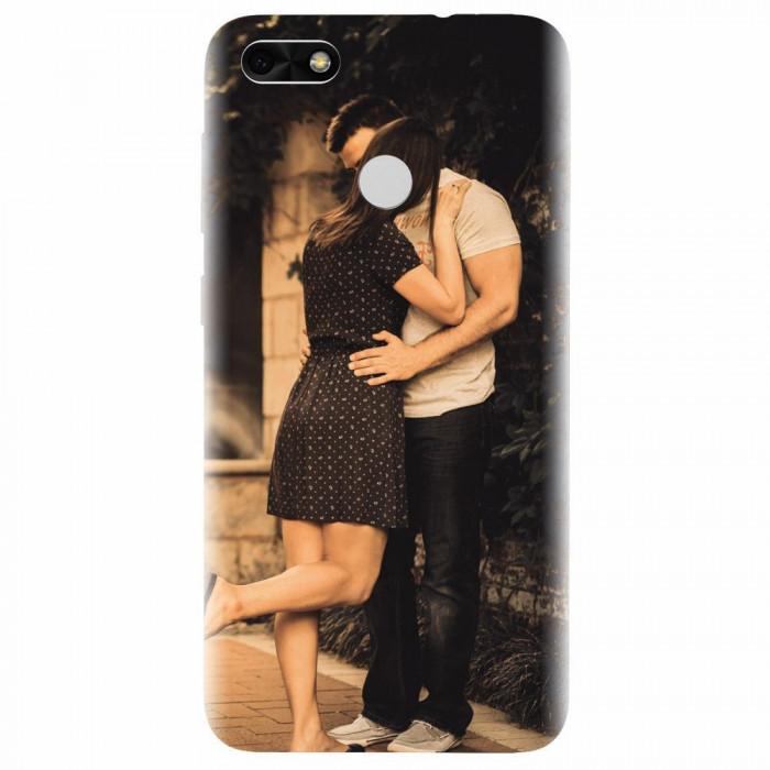 Husa silicon pentru Huawei P9 Lite mini, Couple Kiss