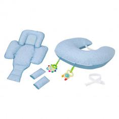 Perna multifunctionala 10 in 1 albastra Clevamama for Your BabyKids