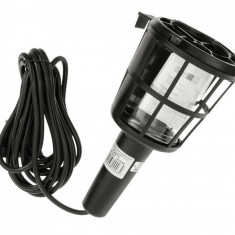 Lampa de lucru cu soclu bec E27, max 60W , 230V cu cablu de 5m Kft Auto
