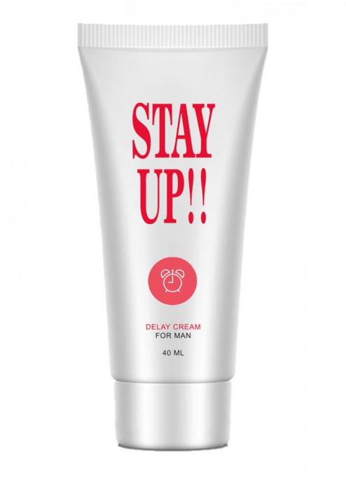 Crema Pentru Intarzierea Ejacularii Stay Up Delay, 40 ml