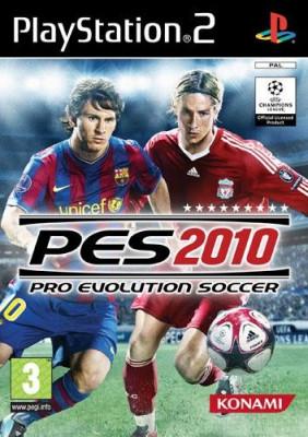 Pro Evolution Soccer 2010 PS2 foto