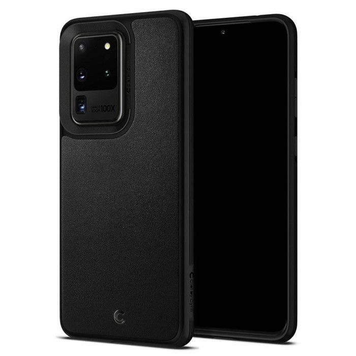 Carcasa Spigen Ciel Leather Samsung Galaxy S20 Ultra Black