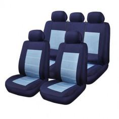 Huse Scaune Auto Lancia Zeta RoGroup Blue Jeans 9 Bucati